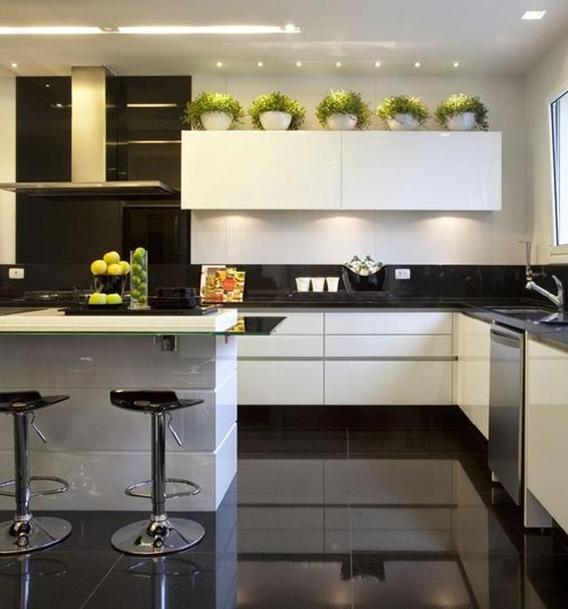 Apartamento Pequeno: Cozinha Planejada Para Apartamento Pequeno